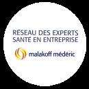 Réseau des experts santé en entreprise malakoff médéric