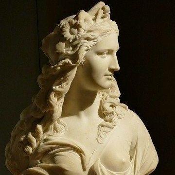 Statue De Marianne Pour Illustrer La Fonction Publique